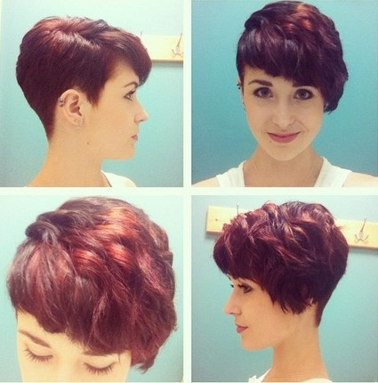 20 Trendy Short Hairstyles for Thick Hair PoPular Haircuts