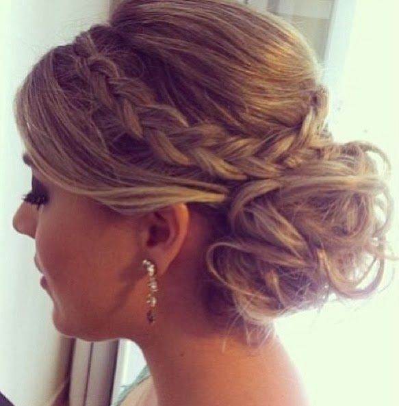 Outstanding 15 Pretty Prom Hairstyles For 2017 Boho Retro Edgy Hair Styles Short Hairstyles Gunalazisus