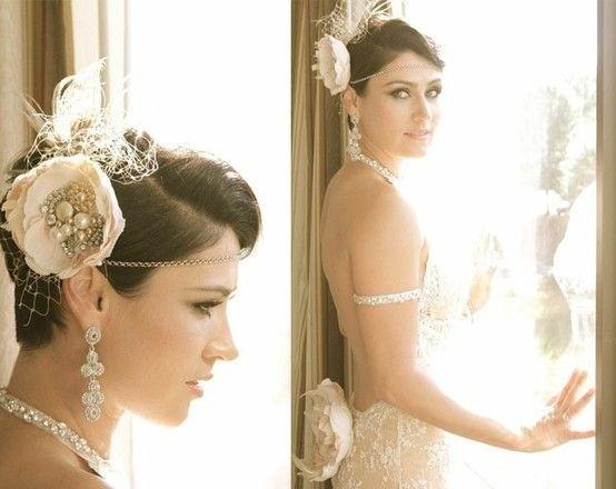 Wedding Updos for Short Hair - Sassy Wedding Hairstyles