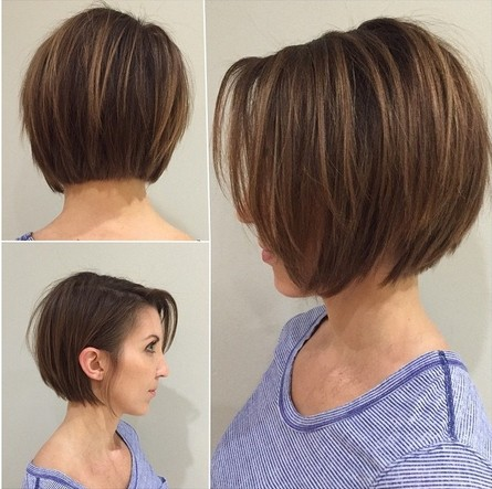 Short Layered Bob Hairstyles Cool Short And Straight  Oh So Pretty  Pinterest  Japanese Hair