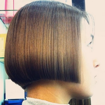 Blunt, Straight A Line Bob Hairstyles