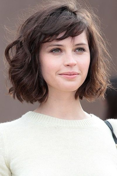bob haircuts with side bangs 15 shaggy bob haircut ideas for great style makeovers 4201