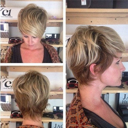 Casual, Everyday Hairstyles for Fine Hair - Women Short Haircut