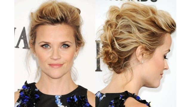 20 celebrity updos from the back