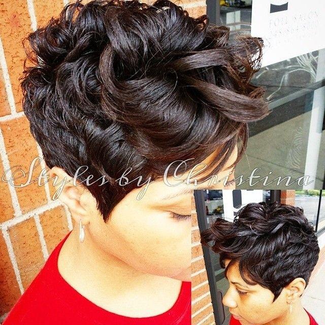 Curls Pixie