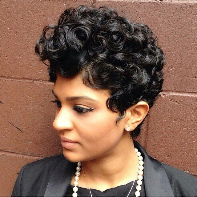 Easy, Curly Pixie Haircut