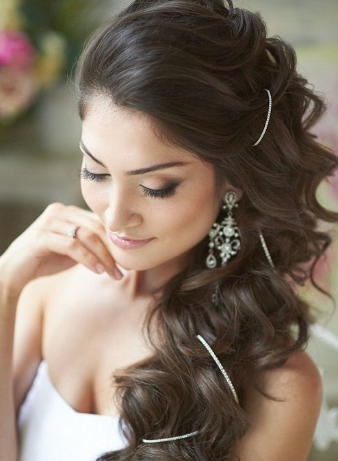Easy, Wedding Long Hairstyles