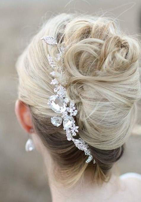 French Twist Updo Hairstyle - Wedding Hair Inspiration