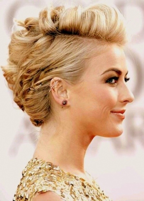 Super 18 Pretty Updos For Short Hair Clever Tricks With A Handful Of Short Hairstyles Gunalazisus