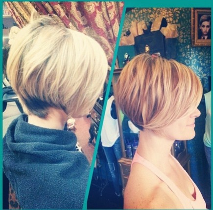 Layered Short Haircut - Frauenfrisuren für 2015