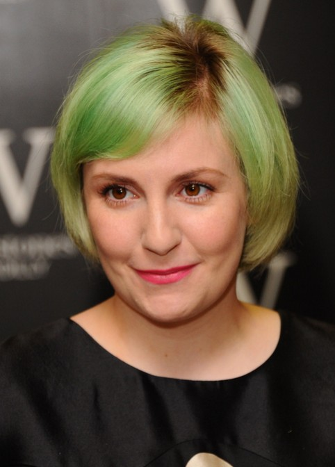 Lena Dunham Short Bob Hair Cuts - Stylish Women Hairstyles 2015