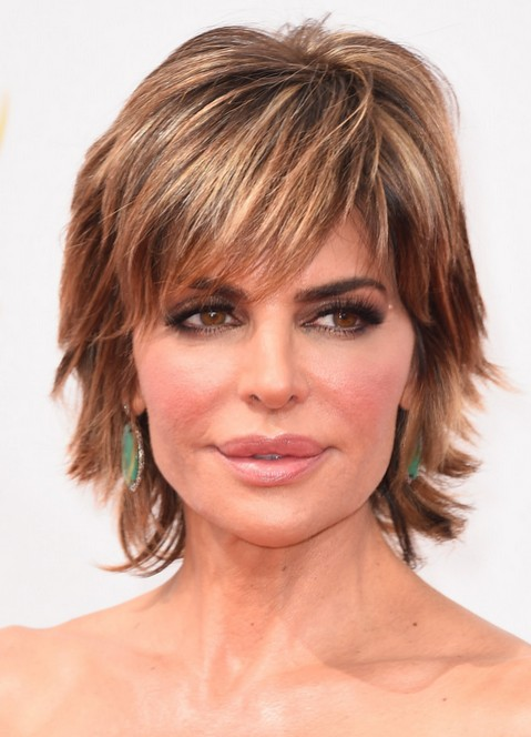 Over 50 Hairstyles jaclyn smith medium curly hair style women over 50 haircuts Lisa Rinna Short Haircut 2015 Hairstyles For Women Over 50