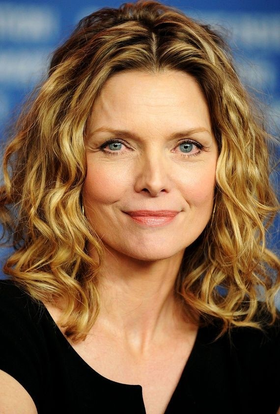 Michelle Pfieffer Blonde Wavy Haircut - Medium Hairstyles for Women Over 50