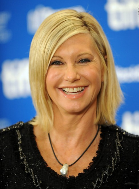Olivia Newton-John Modern Side-part Hair Style