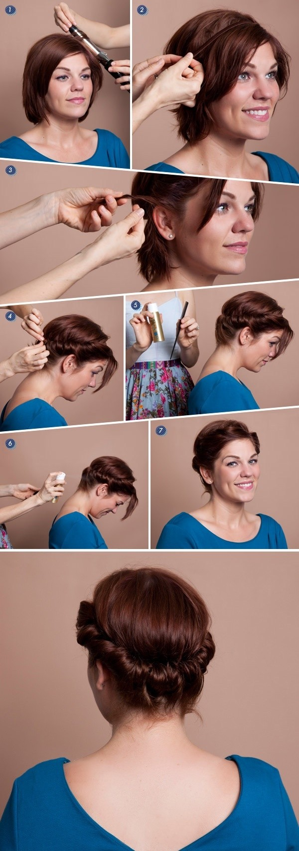 Watch 18 Pretty Updos for Short Hair: Clever Tricks with a Handful of Hairgrips video
