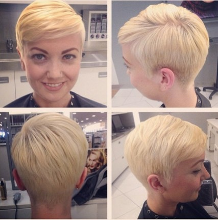 Pixie Hairstyles for Side Swept Bangs