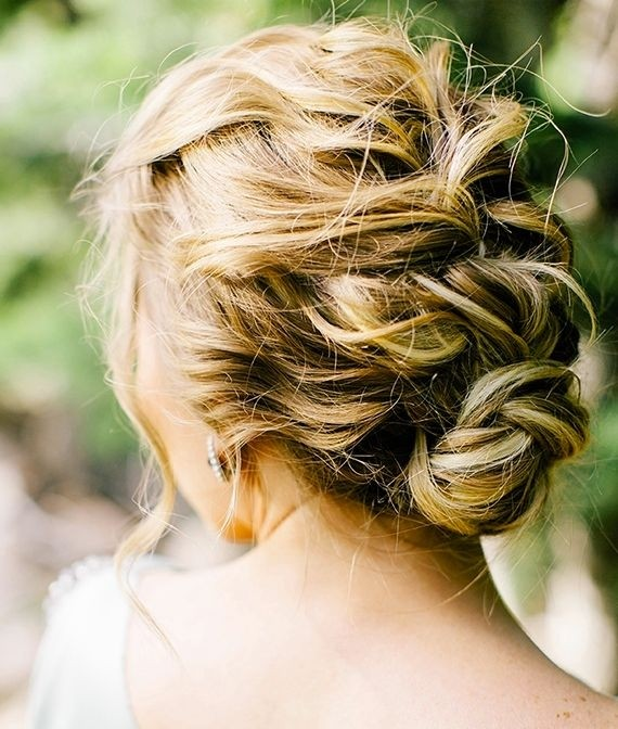 Romantic Wedding Updo Hairstyles