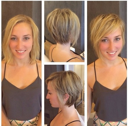 Shaggy Asymmetric Short Haircut