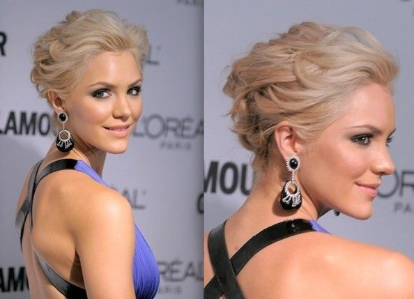 Peachy 18 Pretty Updos For Short Hair Clever Tricks With A Handful Of Hairstyle Inspiration Daily Dogsangcom