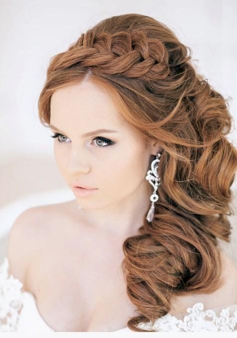 Peachy Braids Styles For Brides Braids Hairstyles For Women Draintrainus