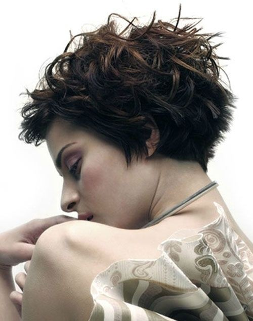 Trendy Messy Layered Hairstyles for Short Hair