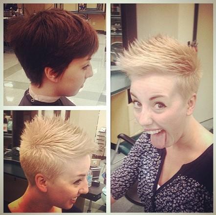 Very Short Hair