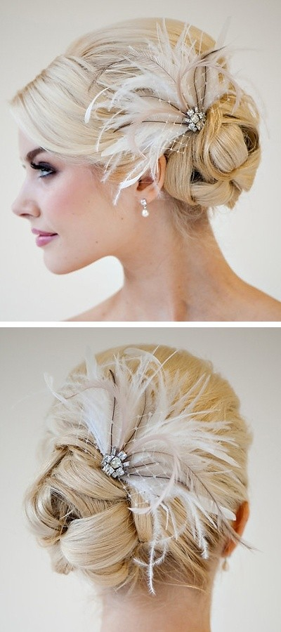 Wedding Updos for Hair Accessories