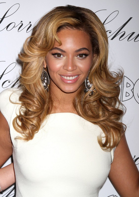 Beyonc 233 Knowles Long Hair Style Loose Curls Popular