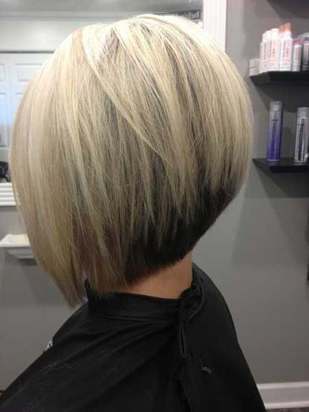 Blonde Bob with Black Underneath Hair - Black and Blonde Hairstyles
