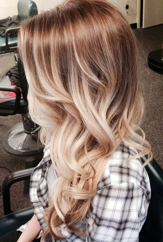 Bohemian Blonde Ombre Long Hair - Long Hairstyles 2015