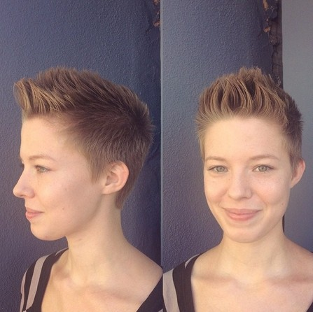 25 Fabulous Short Spikey Hairstyles For Women And Girls Popular