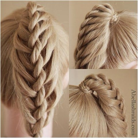 Creative Braid Ponytail Tutorials