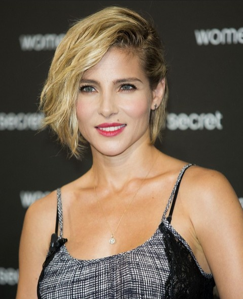 Elsa Pataky Casual Short Hairstyle