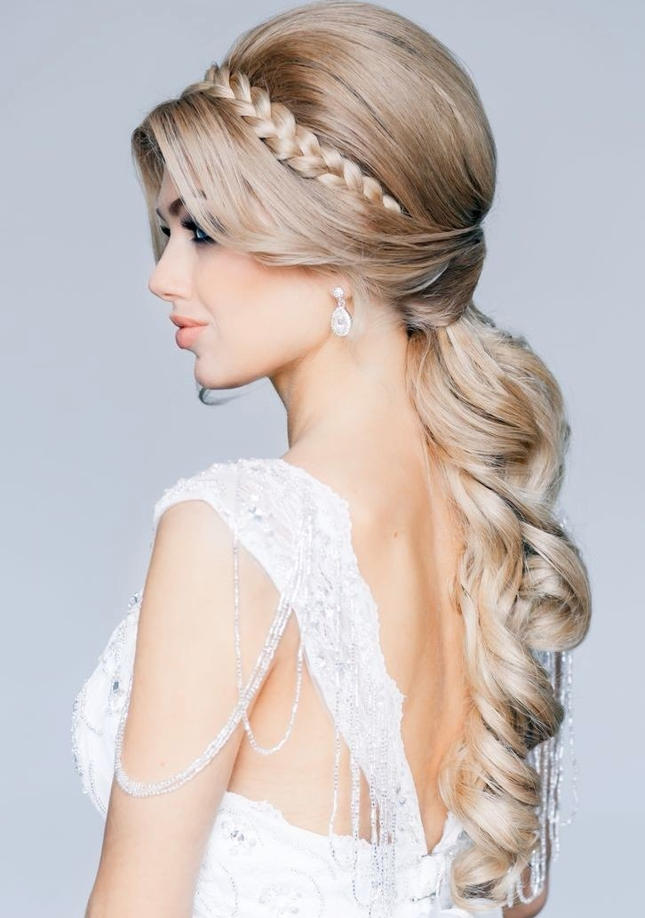 Half Up Ponytail - Elegant Wedding Hairstyles