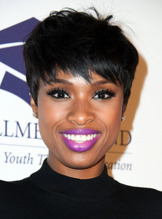 Jennifer Hudson Pixie Haircut: Black Women Short Hairstyle Ideas
