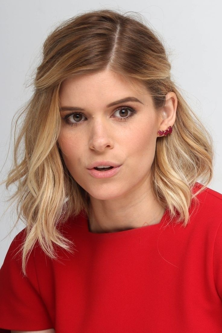 Kate Mara Shoulder Length Hairstyle - Ombre Hairstyles for Medium Hair