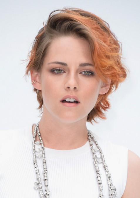 Kristen Stewart Ombre Short Haircut - Messy Short Hairstyles