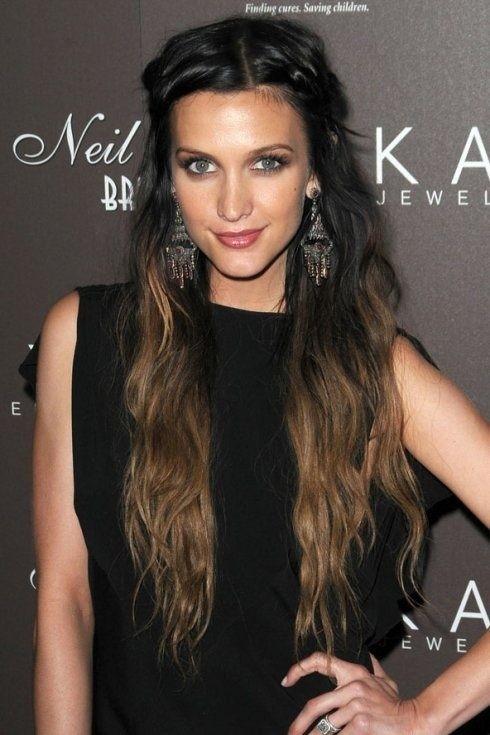 Long Dark Hairstyles
