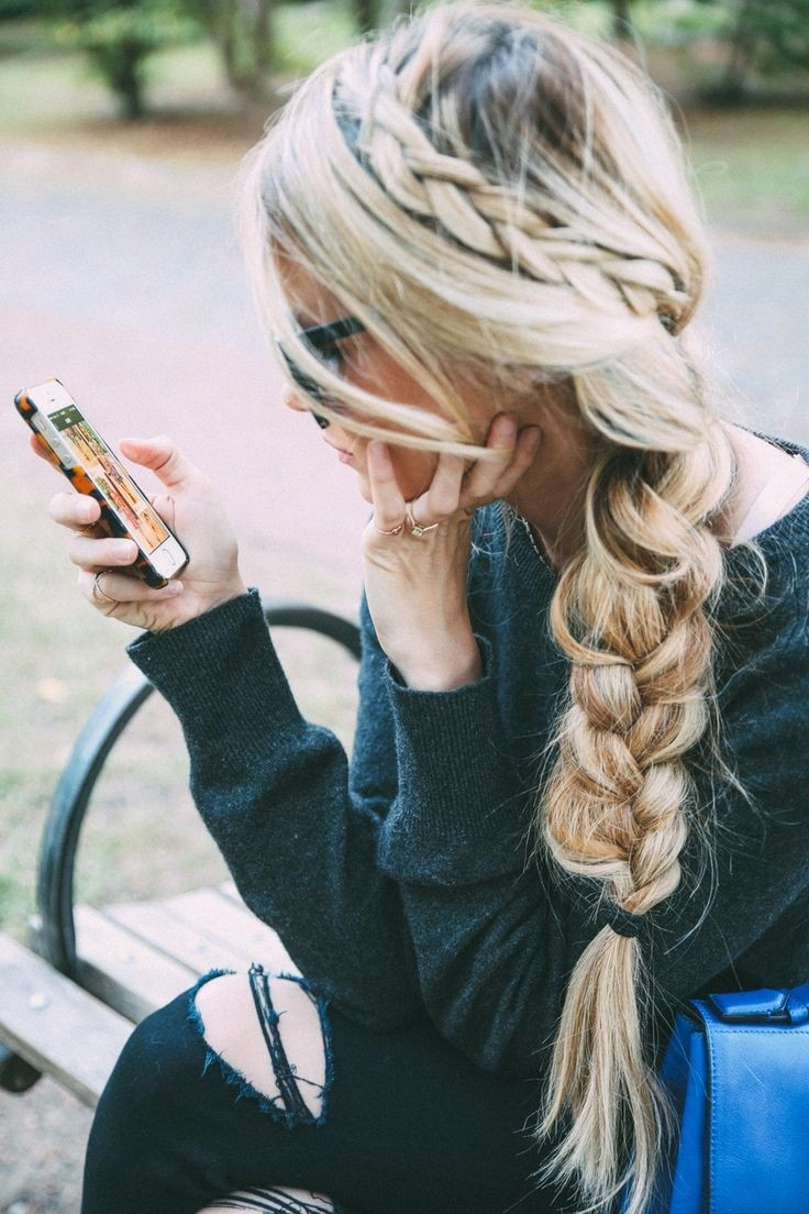 Loose Side Braids - Cute Long Hairstyle Ideas
