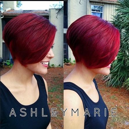 Assez Court Bob Coupe de cheveux - Femme Coiffure Droite Idées