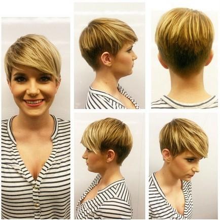 Courts Coupes de cheveux avec Frange - Coiffures Courtes pour Cœur Visage ou Visage Rond Forme