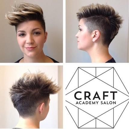 Short Spikey Hairstyles for Women with a Round Face