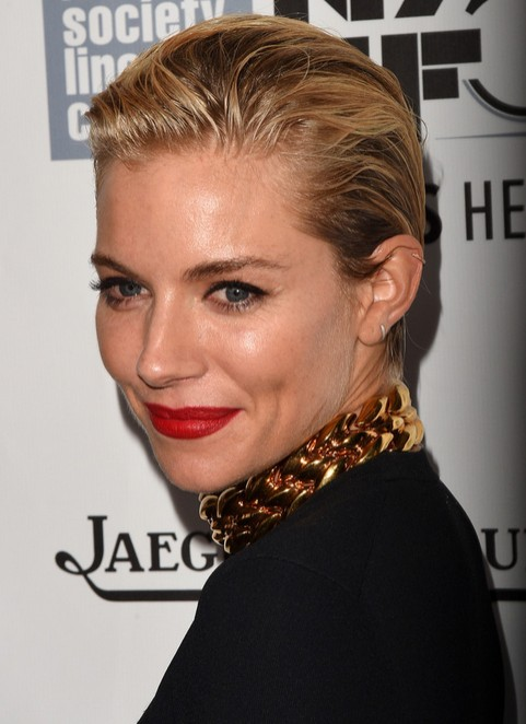 Sienna Miller Short Haircut - Pixie Hairstyles for Fine Hair