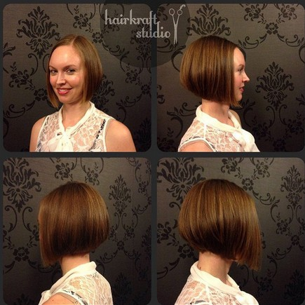 Stacked Bob Hairstyles for Fine Straight Hair