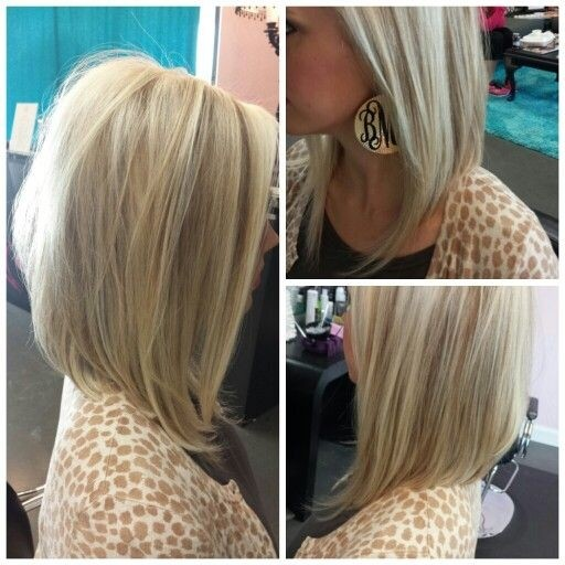 Straight Angled Bob Hair Cut