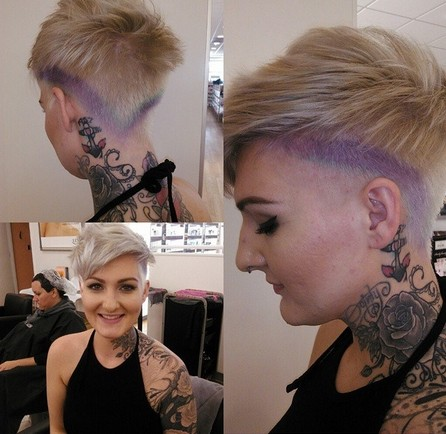 Stylish Haircut for Women Short Hair