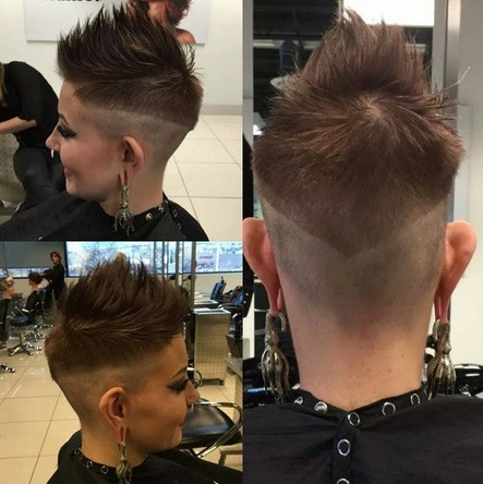 Super Cool Spikey Hairstyles for Short Hair