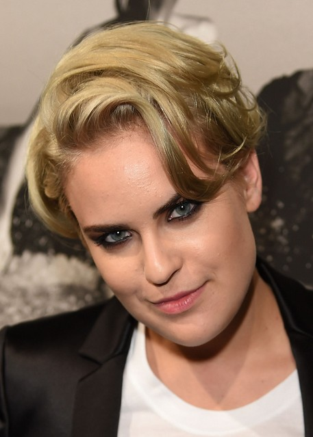 Tallulah Willis Blonde Short Haircut