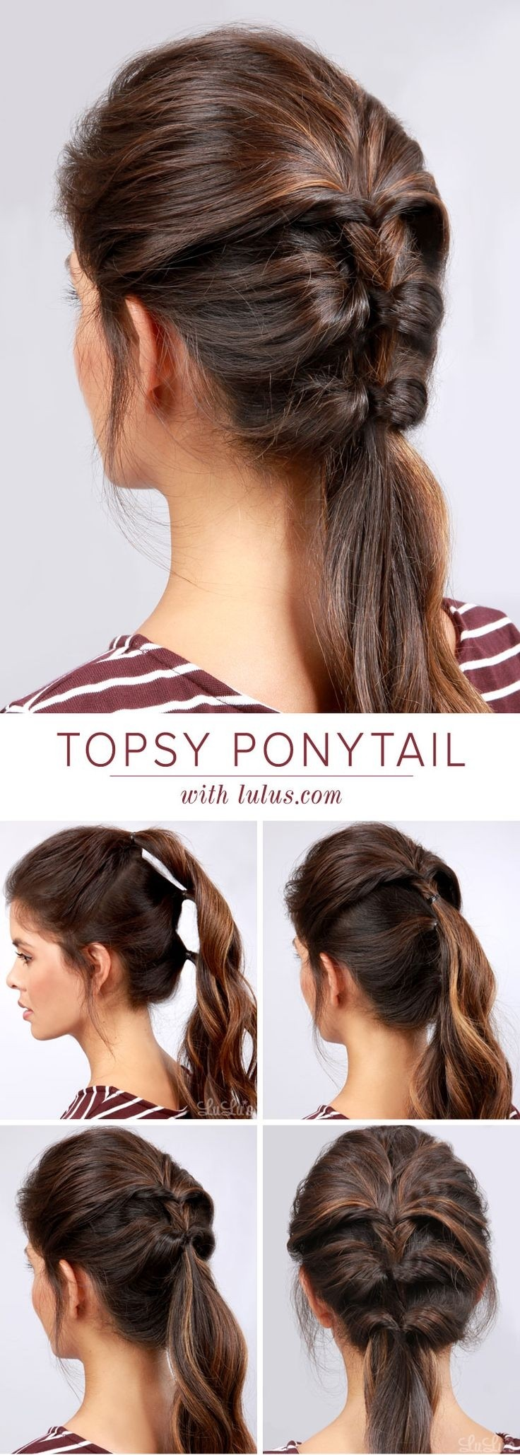 10 Ponytail Hairstyles: Discover Latest Ponytail Ideas Now
