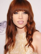 Carly Rae Jepsen Long Hair: Cute Long Haircut with Short Bangs